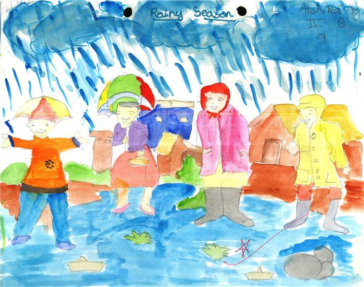 essay rainy season children